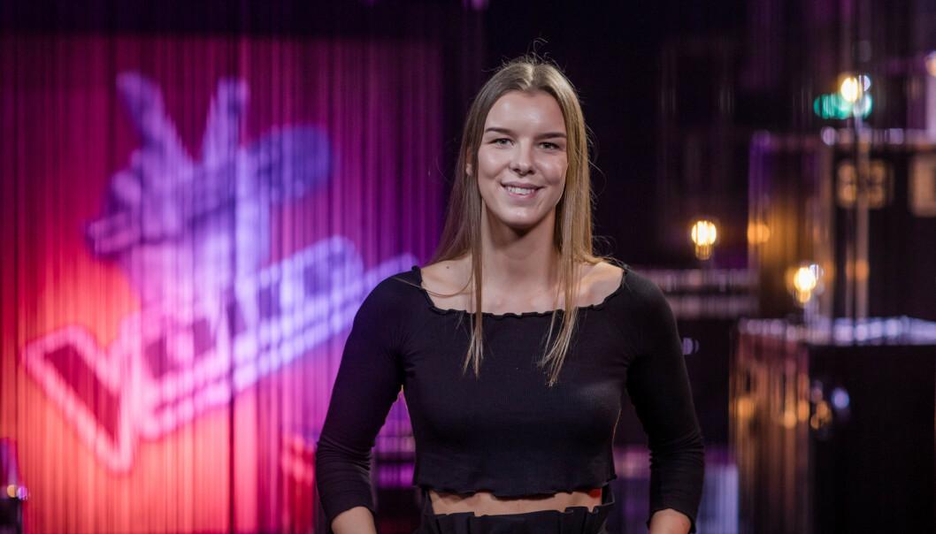 TREKKER SEG: «The Voice»-favoritten Mina Lund avslører lørdag at hun har bestemt seg for å trekke seg fra konkurransen. Foto: Robert Dreier Holand / TV 2
