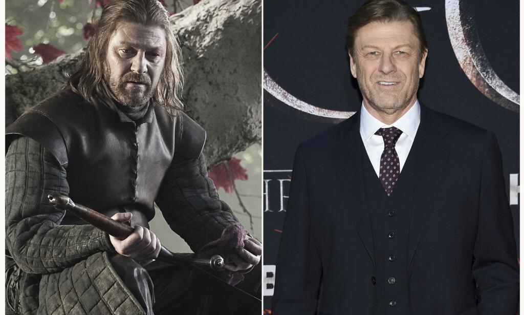 LITEN ROLLE: Sean Bean (59) spilte den sentrale karakteren Eddard (Ned) Stark i seriens første episoder. At han raskt ble drept, viste fansen at i denne serien kan alt skje. Foto: NTB Scanpix