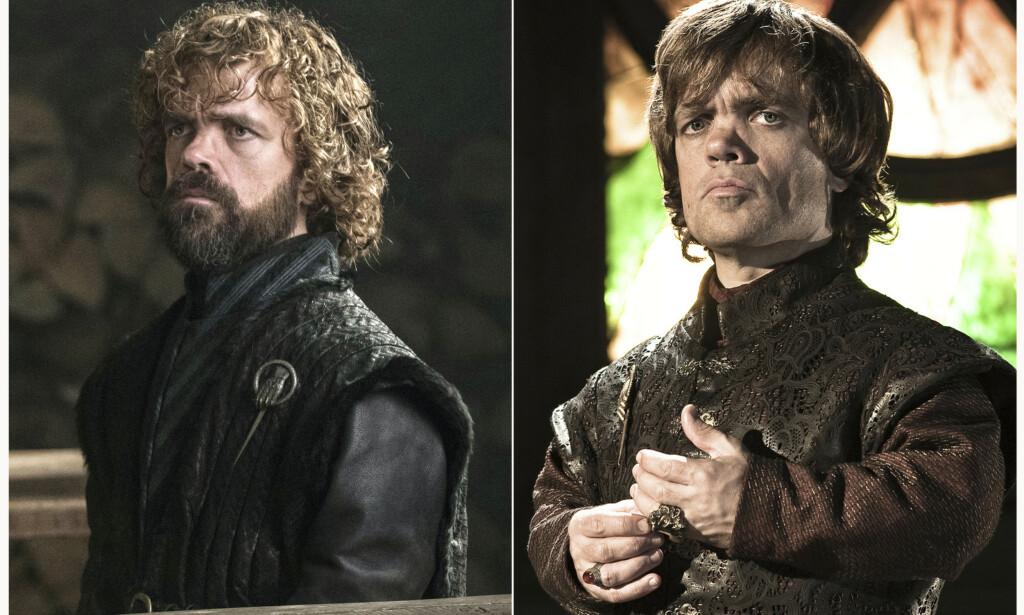 TYRION LANNISTER: Peter Dinklage (49) har spilt den sentrale karakteren Tyrion Lannister gjennom seriens åtte sesonger. Foto: NTB Scanpix