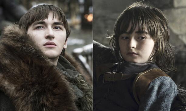 BRAN STARK: Isaac Hempstead Wright (20) har gjennom hele serien spilt rollen som Bran Stark, en rolle han fikk som 11-åring. Foto: NTB Scanpix