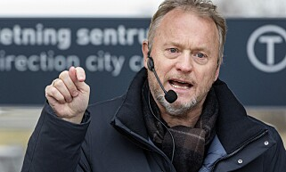 INGEN PEKEFINGER: Byrådsleder Raymond Johansen (Ap) ønsker ikke å heve noen pekefinger mot dem som velger å flytte. Foto: Gorm Kallestad / NTB scanpix