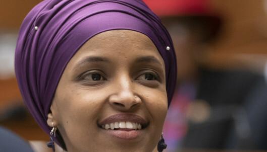 Demokrater forsvarer muslimsk politiker etter at Trump delte video