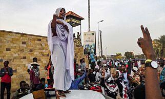 image: Symbolet på Sudans frihetskamp