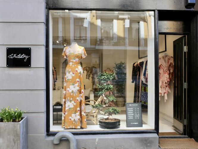 ÅPNET BUTIKK: Det hele startet hjemme i tv-stua til Hilde. I dag har hun butikk på Frogner. Foto: Whitestory & Friends