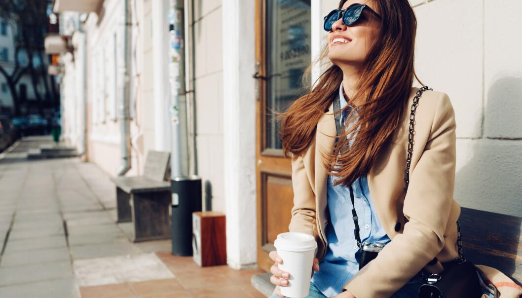 TANKEN PÅ KAFFE: Å tenke på kaffe kan kvikne deg opp, viser undersøkelse. FOTO: NTB Scanpix