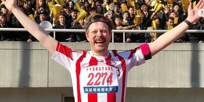 Fullførte halvmaraton i Nord-Korea
