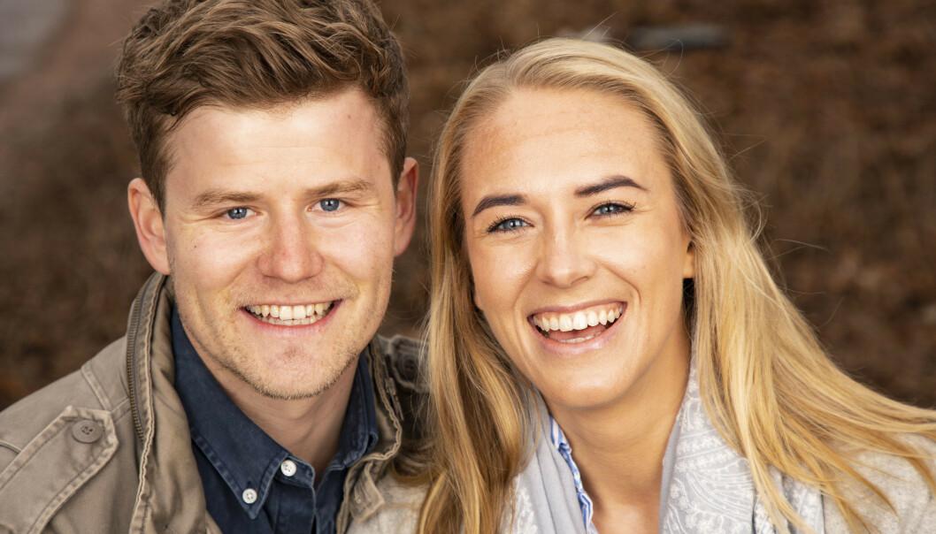 SKAL GIFTE SEG: Nicolay Ramm og Josephine Leine Granlie har forlovet seg og skal dermed begynne bryllupsplanlegging i nærmeste framtid. Foto: Tor Lindseth / Se og Hør