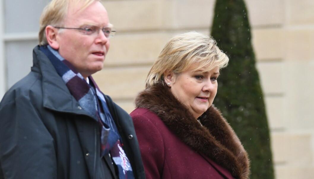 Erna Solberg: – Hjerteskjærende