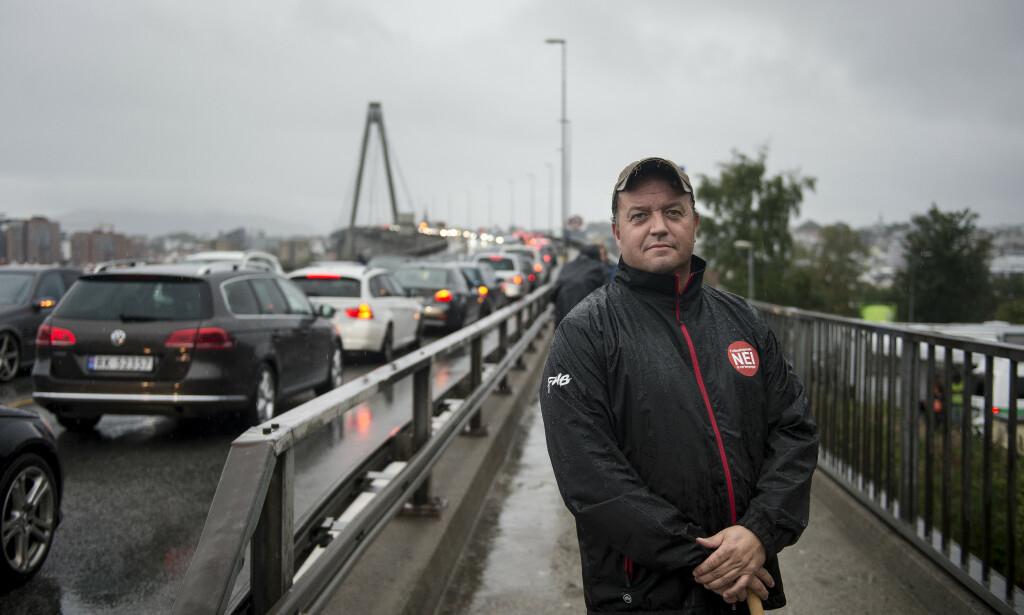 PARTISTIFTER: Frode Myrhol har stiftet det politiske partiet Folkeaksjonen nei til mer bompenger. Foto: Carina Johansen / NTB Scanpix