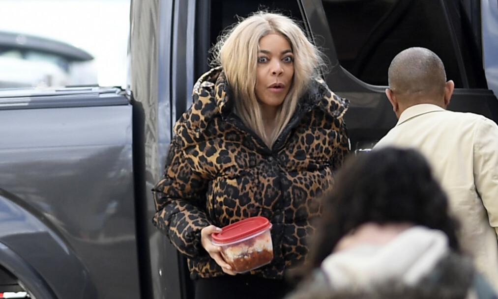 ANGRER HUN?: Det er bare snakk om dager siden Wendy Williams søkte om skilsmisse fra ektemannen. Nå skal hun visstnok angre på avgjørelsen. Foto: Splash News/ NTB Scanpix