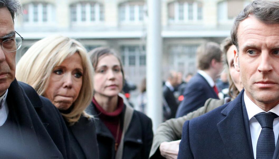 Macron lover å gjenoppbygge Notre-Dame på fem år