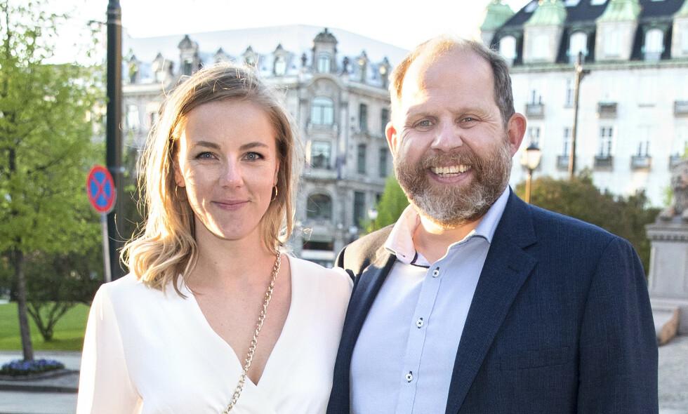 BABYLYKKE: Truls Svendsen og kjæresten er blitt foreldre for første gang. Foto: Andreas Fadum