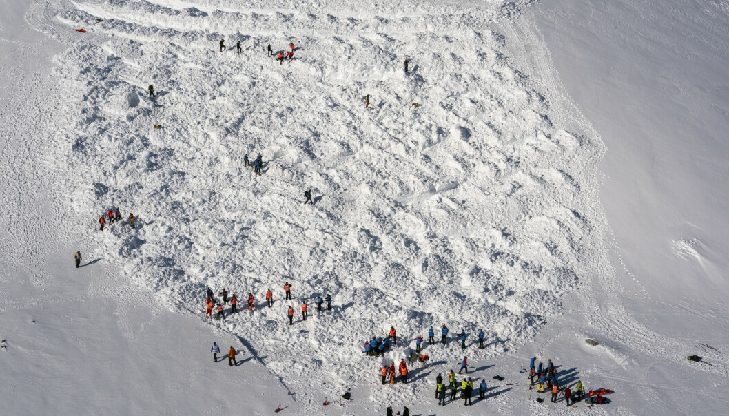 Snøskredfaren øker. Foto: Heiko Junge / NTB scanpix Priser