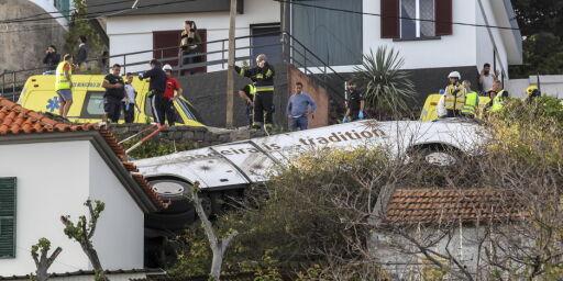 image: Minst 29 døde i bussulykke på Madeira