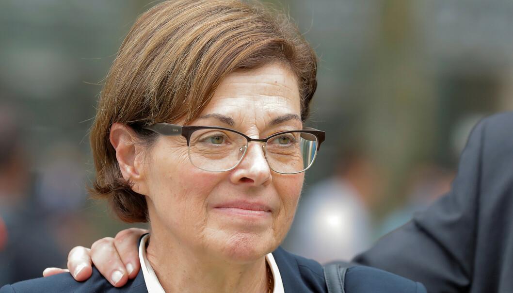<strong>GRUNNLEGGER:</strong> Nancy Salzman er en av medgrunnleggerne av NXIVM. Foto: NTB Scanpix