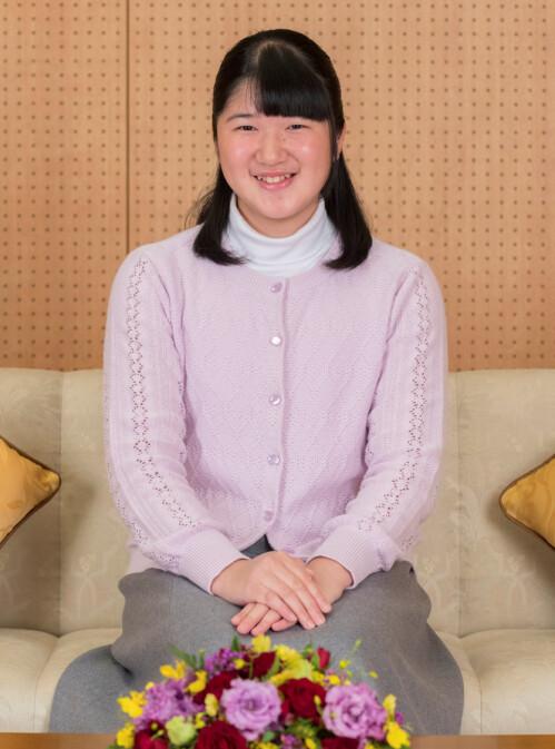 DATTER: Prinsesse Aiko er kronprinsparets eneste barn. Det at hun er kvinne, påvirker arverekken når kronprins Naruhito en dag dør. Foto: NTB Scanpix