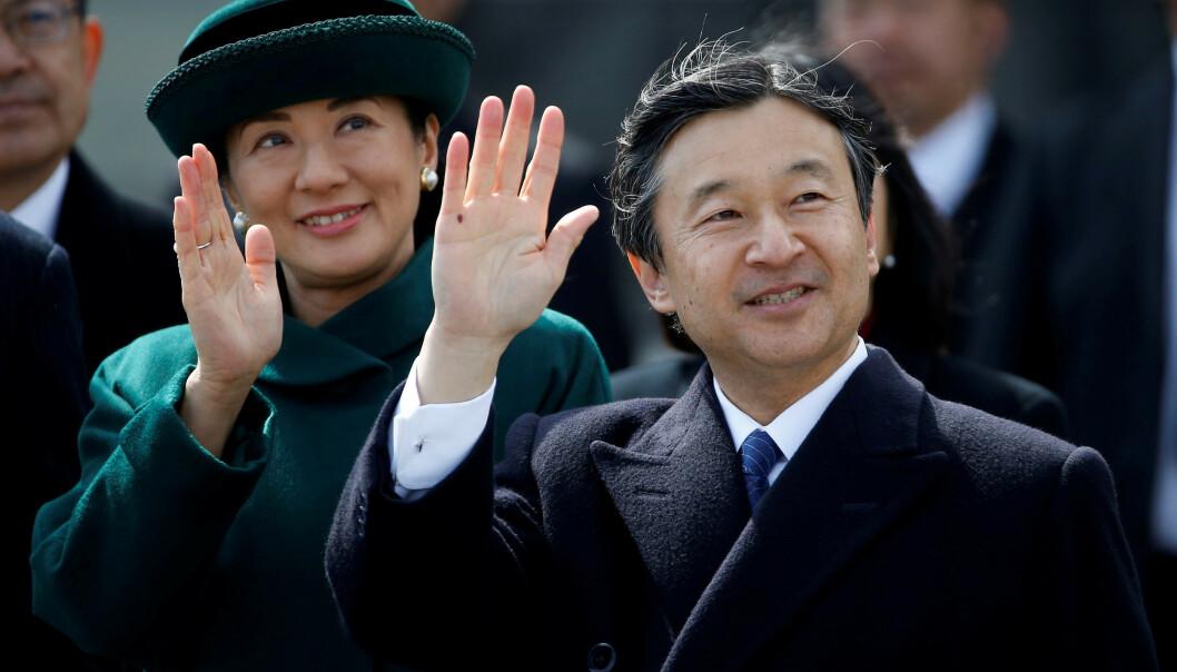 TAR OVER: Når faren abdiserer 30. april, tar kronprins Naruhito over tronen sammen med kona, kronprinsesse Masako. Slik vil han styre landet. Foto: NTB Scanpix