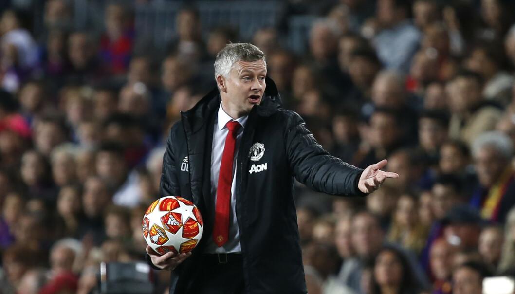 Manager Ole Gunnar Solskjær opplever tunge dager med sitt Manchester United. (Foto: Joan Monfort / AP Photo / NTB scanpix).