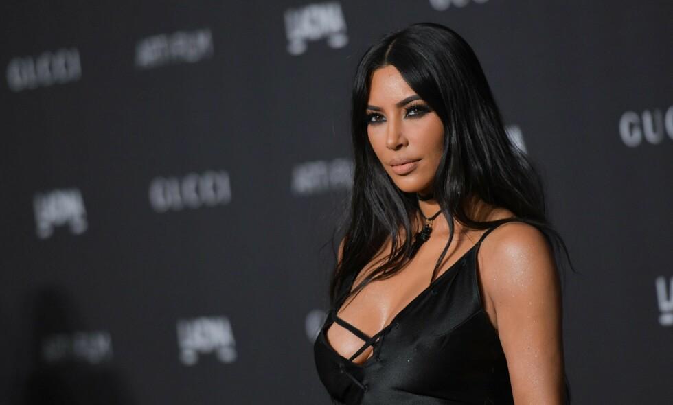 ADVOKAT: Tidligere denne måneden avslørte Kim Kardashian at hun studerer for å bli advokat. Foto: NTB Scanpix