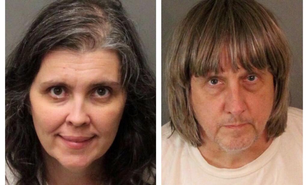 ERKJENTE STRAFFSKYLD: Anna og David Turpin sa seg skyldig på 14 tiltalepunkter. Foto: REX