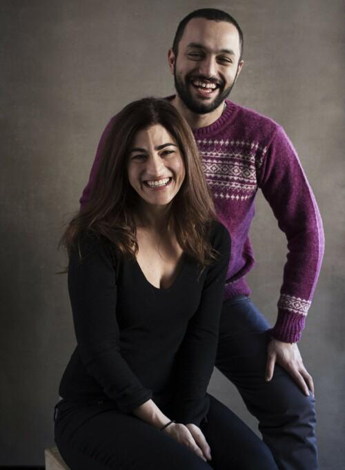 <strong>LAGER DOKUMENTAR:</strong> Jehane Noujaim og Karim Amer lager dokumentar om organisasjonen NXIVM. Foto: NTB Scanpix