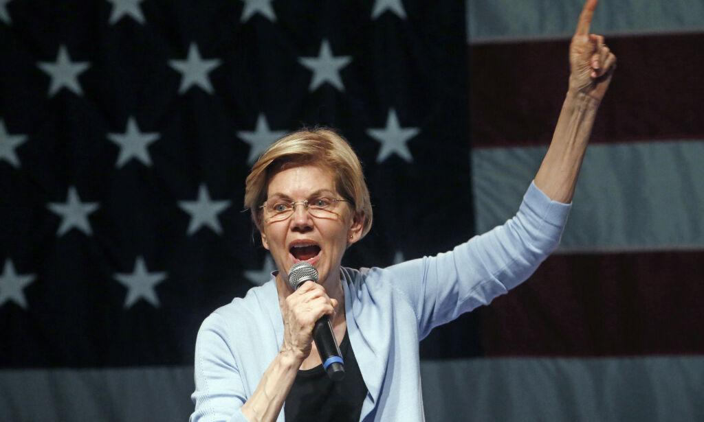 image: Warren krever Trump stilt for riksrett