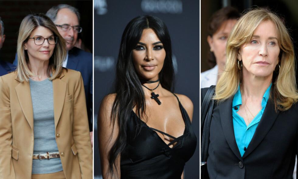 KRITISK: Kim Kardashian har uttalt seg om universitetsskandalen, og er kritisk til at enkelte foreldre punger ut for at barna skal få fordeler. Foto: NTB Scanpix