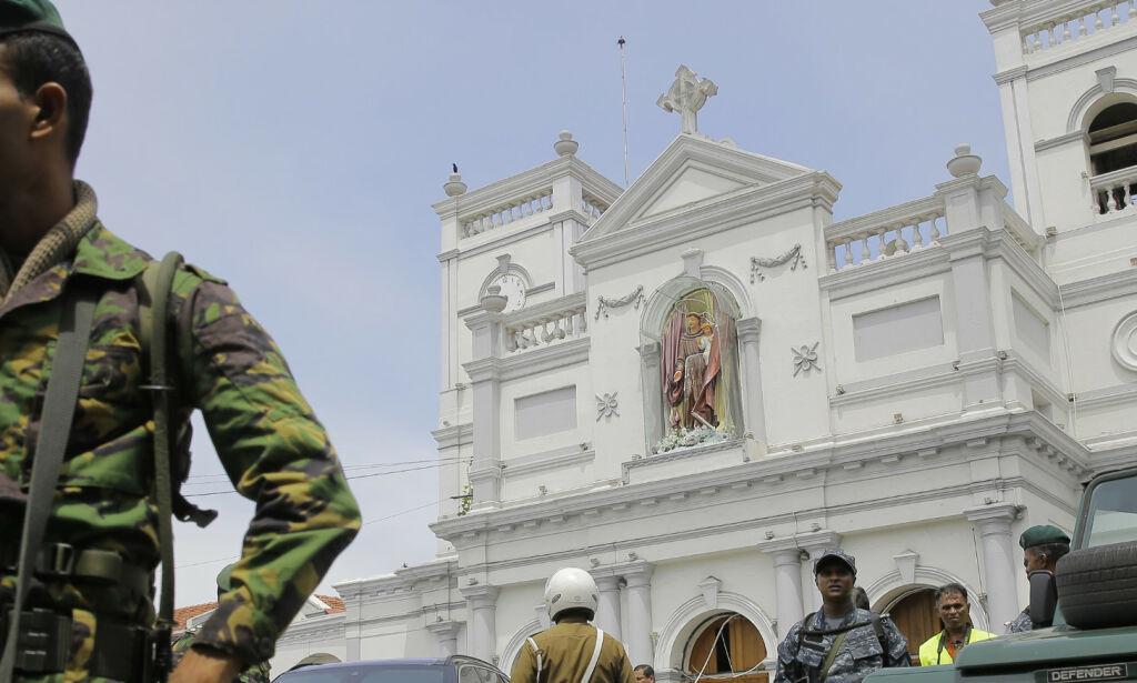 image: Antall drepte på Sri Lanka oppe i 290 – 24 pågrepet