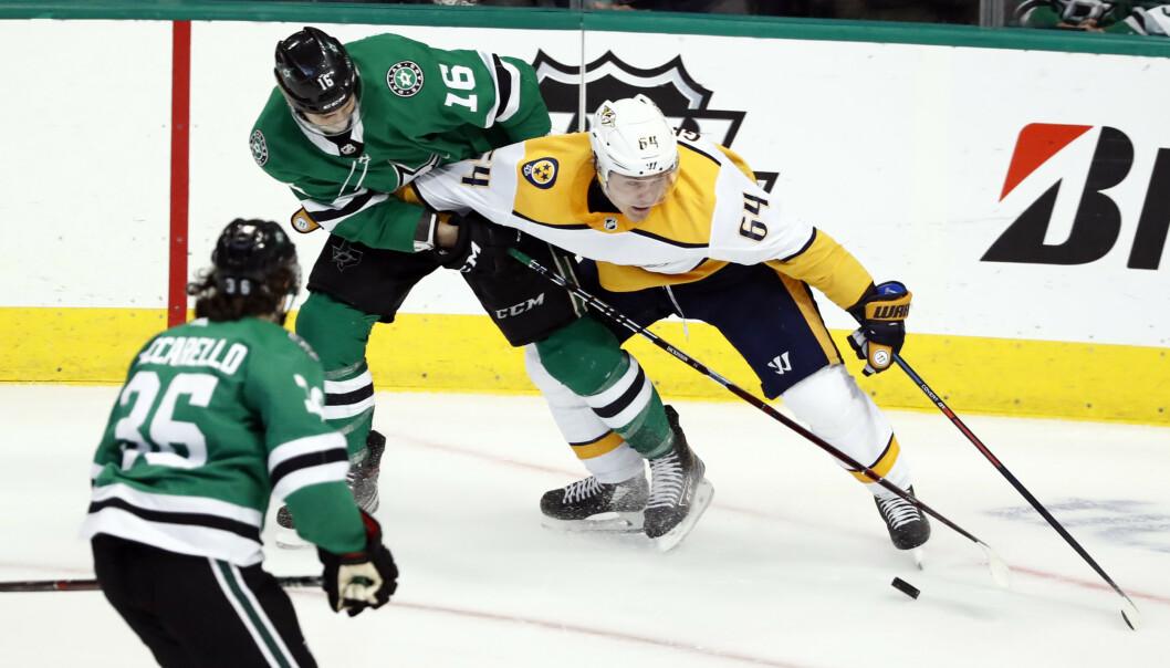 VIDERE: Mats Zuccarello skal spille kvartfinale i NHL. Foto: AP Photo / Tony Gutierrez / NTB Scanpix
