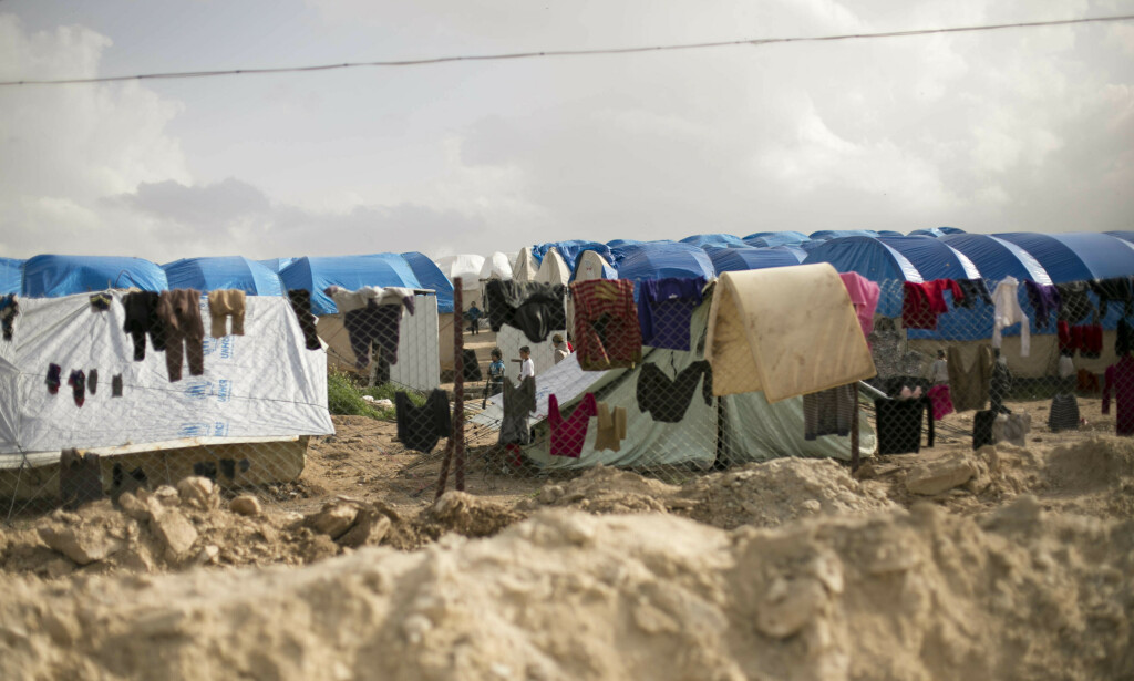 Barna befant seg i flyktningleiren i al-Hol i april. De er etter det Aftenposten erfarer fremdeles i leiren. Maya Alleruzzo / AP / NTB scanpix