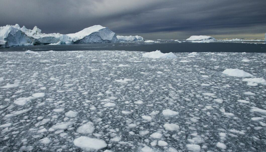 Nye beregninger viser at isen på Grønland forsvinner seks ganger raskere i dag enn på 1980-tallet. Illustrasjonsfoto: Jan-Morten Bjørnbakk / NTB scanpix
