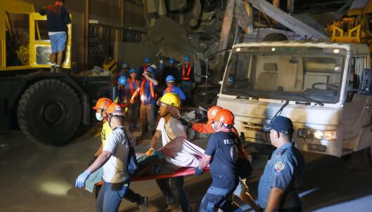 Nytt jordskjelv på Filippinene