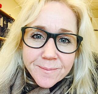 FORNØYD: Annette Brenne (50) er imponert av kollagenpulveret The Solution.
