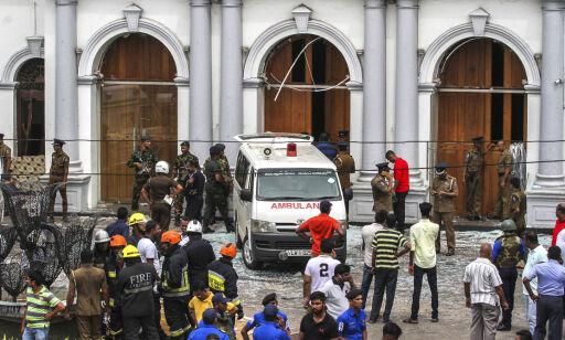 image: Turistene flykter fra Sri Lanka etter terroren