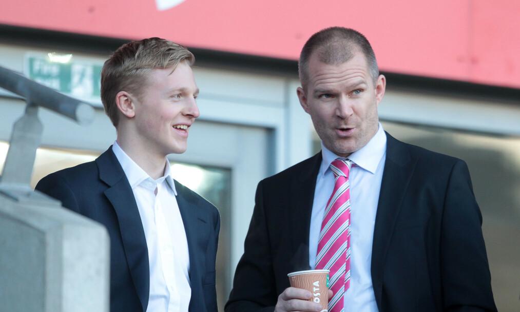 SPILLER OG AGENT: St. Pauli-spiller Mats Møller Dæhlis agent er Jim Solbakken. Foto: Chris Fairweather/Huw Evans Agency / NTB scanpix