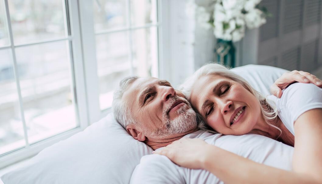<strong>SEKSUALITET:</strong> Når man blir litt eldre vil ikke nybegynnerusikkerheten hengende over deg, og du kan derfor leve ut seksualiteten din på en helt annen måte. FOTO: NTB Scanpix