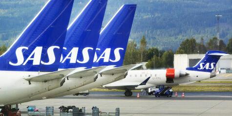 image: Tre av fire SAS-fly kan bli stående på bakken fredag