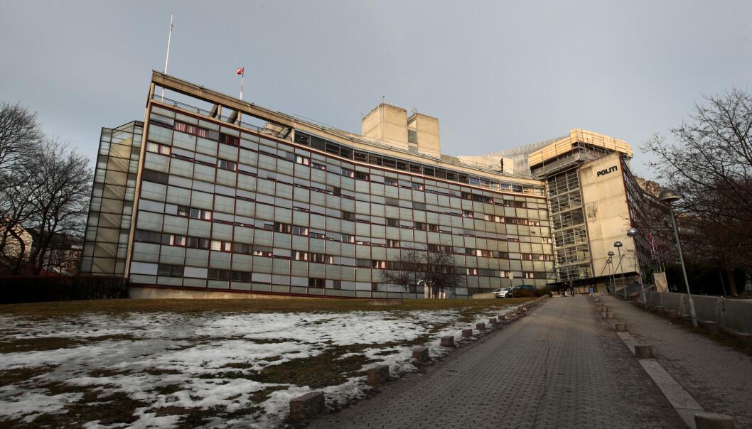 Oslo  20190227. Grønland politistasjon er en av Oslos fem politistasjoner og er lokalisert i Politihuset i Grønlandsleiret 44 på Grønland. På Politihuset er også en del andre avdelinger innen Oslopolitiet, blant annet ledelsen, Beredskapstroppen og Operasjonssentralen. Foto: Lise Åserud / NTB scanpix