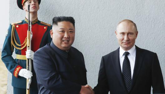 Putin og Kim fornøyde etter møte