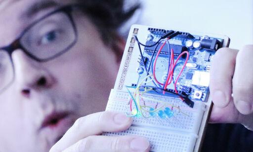 image: Jeg fikk en LED til å blinke, følte meg som Gud, og la det i skuffen