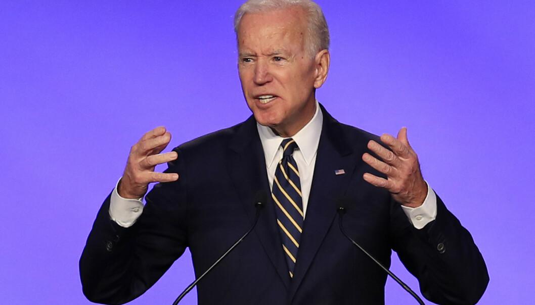 Tidligere visepresident Joe Biden har to ganger tidligere forsøkt å bli Demokratenes presidentkandidat. Nå gjør han et nytt forsøk. Foto: AP / NTB scanpix