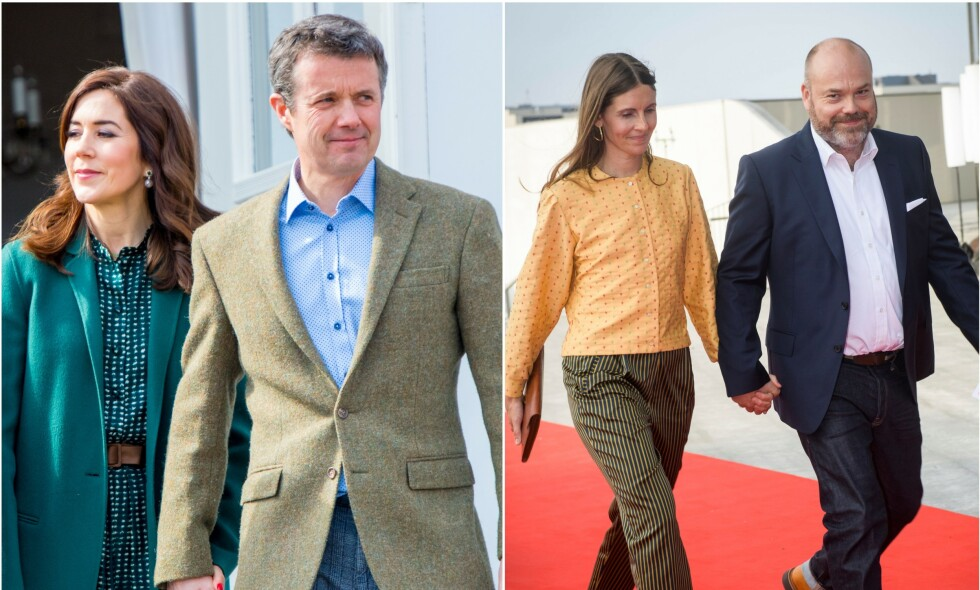 I SORG: Danmarks kronprins Frederik og resten av den danske kronprinsfamilien er gode venner med Holch Povlsen-familien, som ble hardt rammet av terroren på Sri Lanka søndag. Nå sørger kronprinsparet over venneparets døde barn. Foto: NTB Scanpix