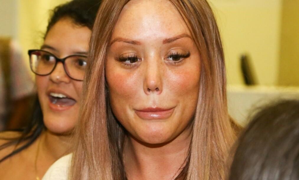 NY KJÆRESTE: Den skandaløse realitystjernen Charlotte Crosby (29) skal ha funnet kjærligheten på ny, fire måneder etter bruddet med eksen. Foto: NTB scanpix