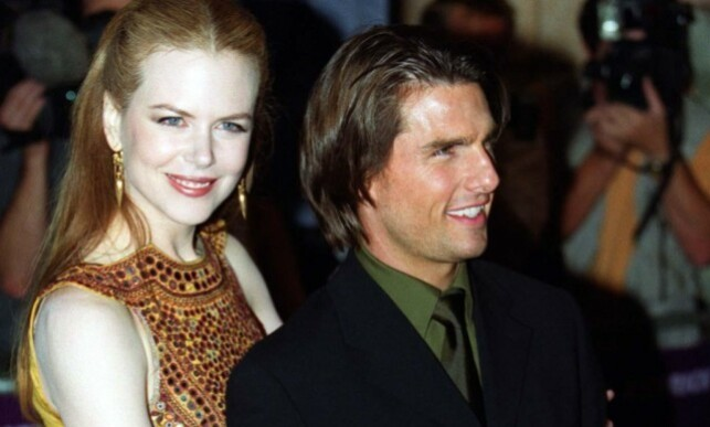 Nicole Kidman and Tom Cruise met during the filming of the film
