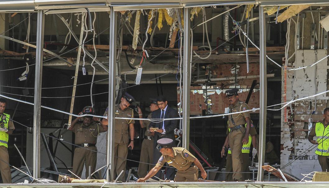 Srilankiske myndigheter mener Zahran Hashim utførte et selvmordsangrep på Shangri-La-hotellet i Colombo søndag. Foto: Chamila Karunarathne / AP / NTB scanpix