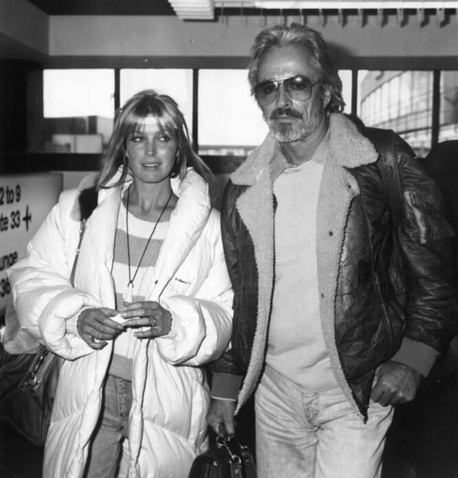 NYFORELSKET: Bo og John innledet et forhold da hun var 16 og han var 46. Paret giftet seg siden og hun spilte i flere av filmene hans. FOTO: NTBScanpix