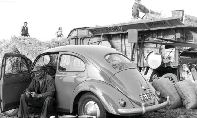 OVAL: I Norge fra 1953 til 1957. Foto: VW arkiv