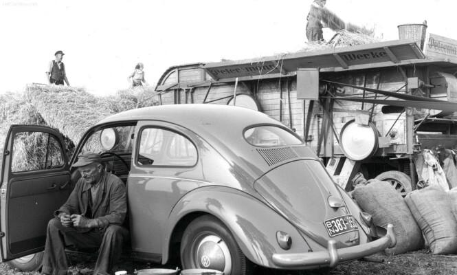 <strong>OVAL:</strong> I Norge fra 1953 til 1957. Foto: VW arkiv