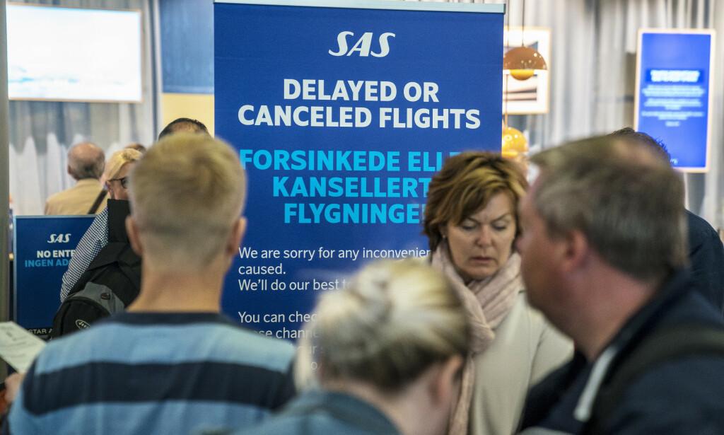 Opptil 80.000 reisende blir rammet allerede fredag. Foto: Ole Berg-Rusten / NTB scanpix
