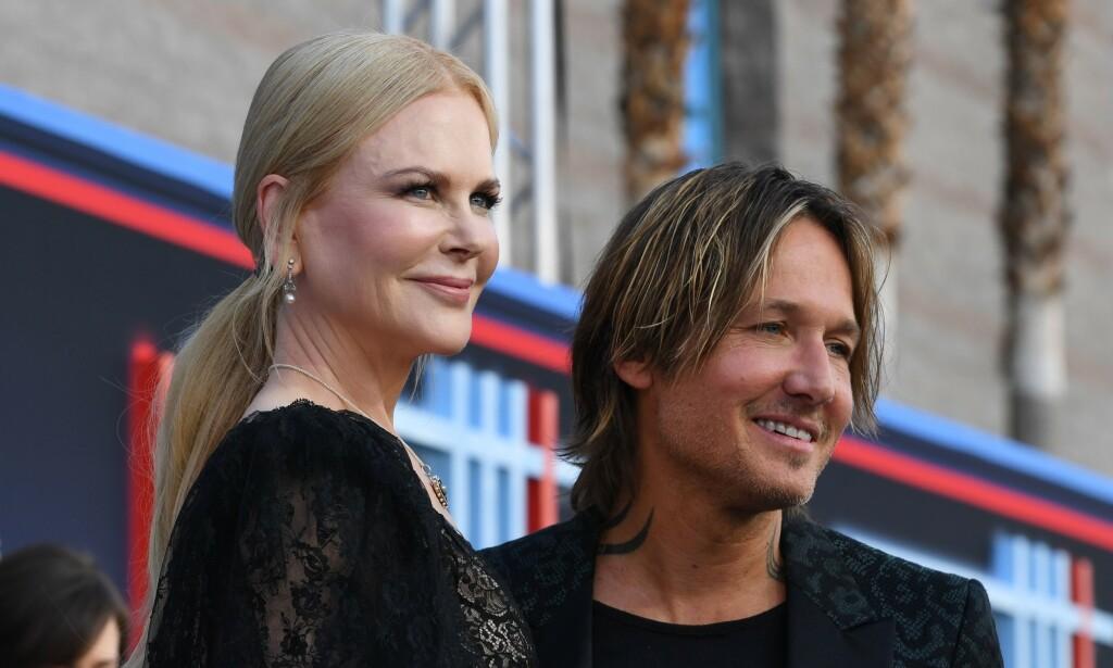 «UPOPULÆR» MOR: Nicole Kidman letter på sløret om morsrollen, og innrømmer at hun har tatt noen valg som ikke har vært særlig populære hos barna. Her med ektemannen Keith Urban tidligere denne måneden. Foto: NTB Scanpix